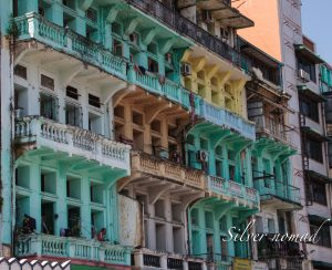 Tenements in Yangon