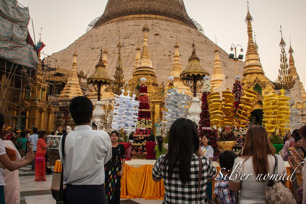 Shwedagon face lift