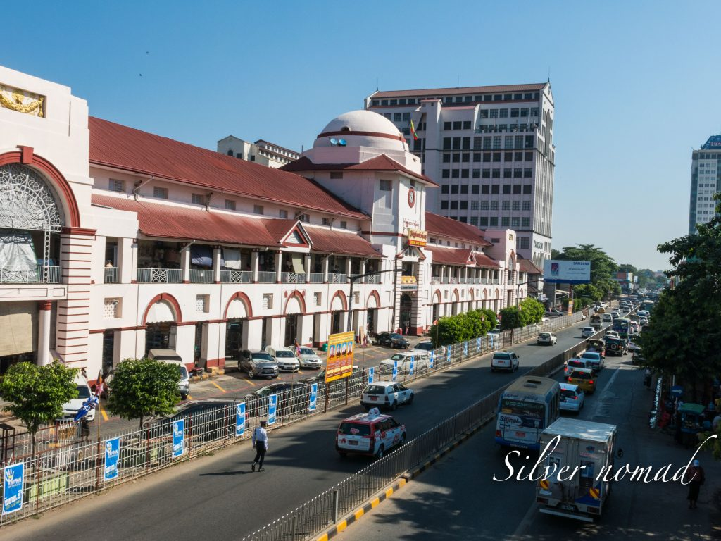 Bog yoke Aung San Market in Yangon
